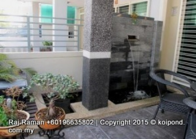 Koi pond contractor in malaysia fountain design and for Koi fish pond design in malaysia