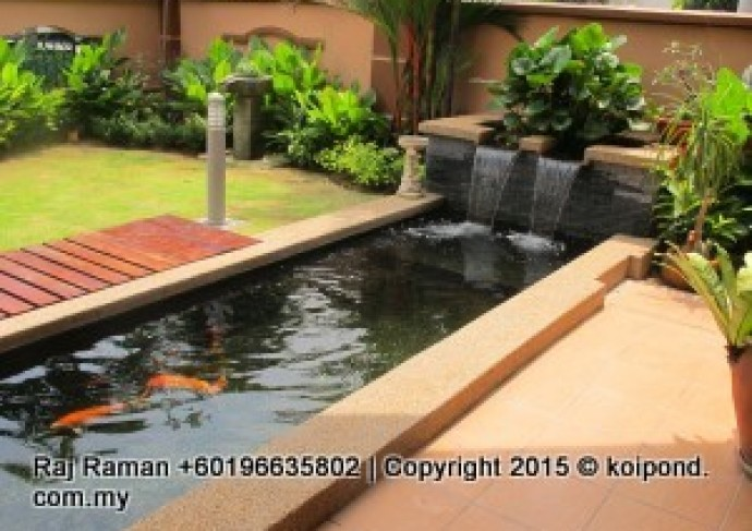 Koi pond design fish pond design fountain design trading for Best pond design