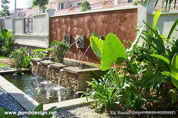 Fish pond design fountain design trading page 3 for Koi pond design malaysia